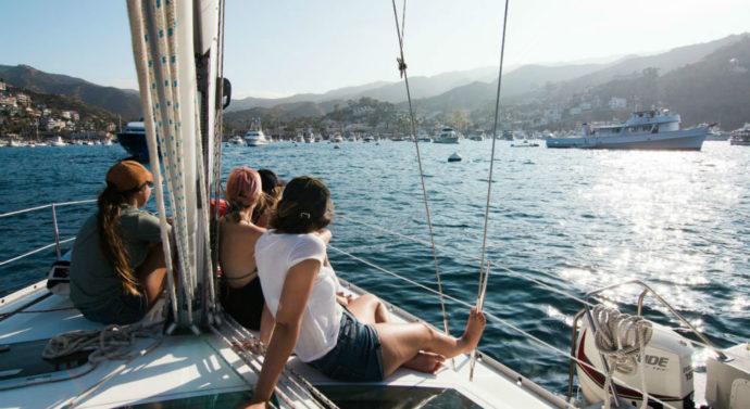 Louer un yacht en groupe